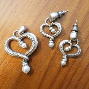 Brighton Pendant and Earring set